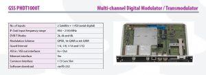 Multi-channel Digital Modulator Transmodulator at Picture Perfect