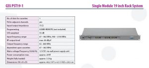 Single Module 19 inch Rack System at Picture Perfect