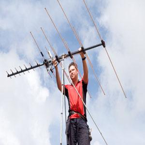 adjusting aerial